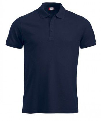 028250 580 Clique Manhattan Polo Heren Donker Blauw