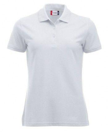 028251 00 Clique Manhattan Polo Dames Wit