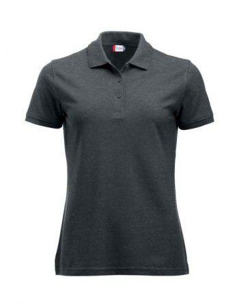 028251 955 Clique Manhattan Polo Dames Antraciet Melange