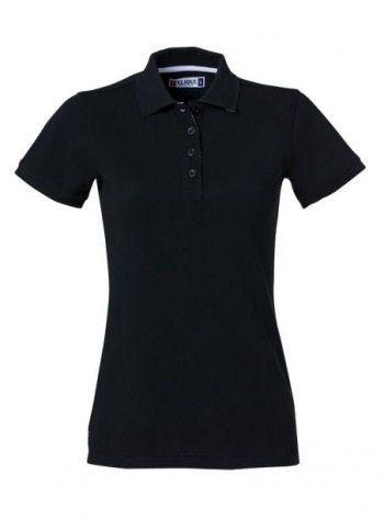 028261 99 Clique Heavy Premium Polo Dames Zwart