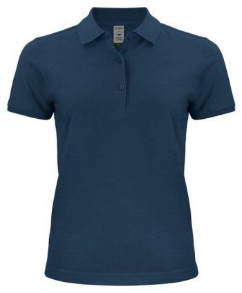 028265 580 Clique Classic OC Polo Dames Donker Blauw