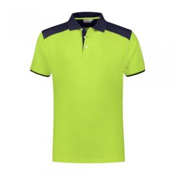 santino-poloshirt-tivoli-2-color-line-lime-donkerblauw