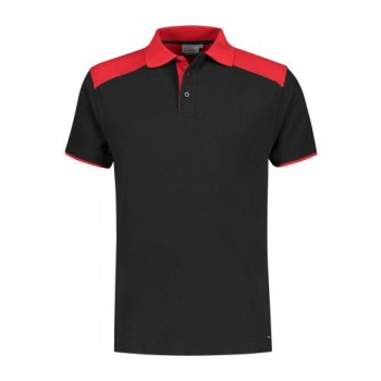 santino-poloshirt-tivoli-2-color-line-zwart-rood