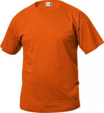 029030 Clique Basic T Shirt oranje